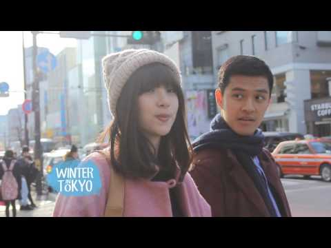 Behind The Scene Winter in Tokyo - Pamela & Morgan