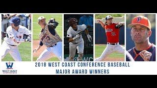 2018 WCC Baseball Postseason Awards