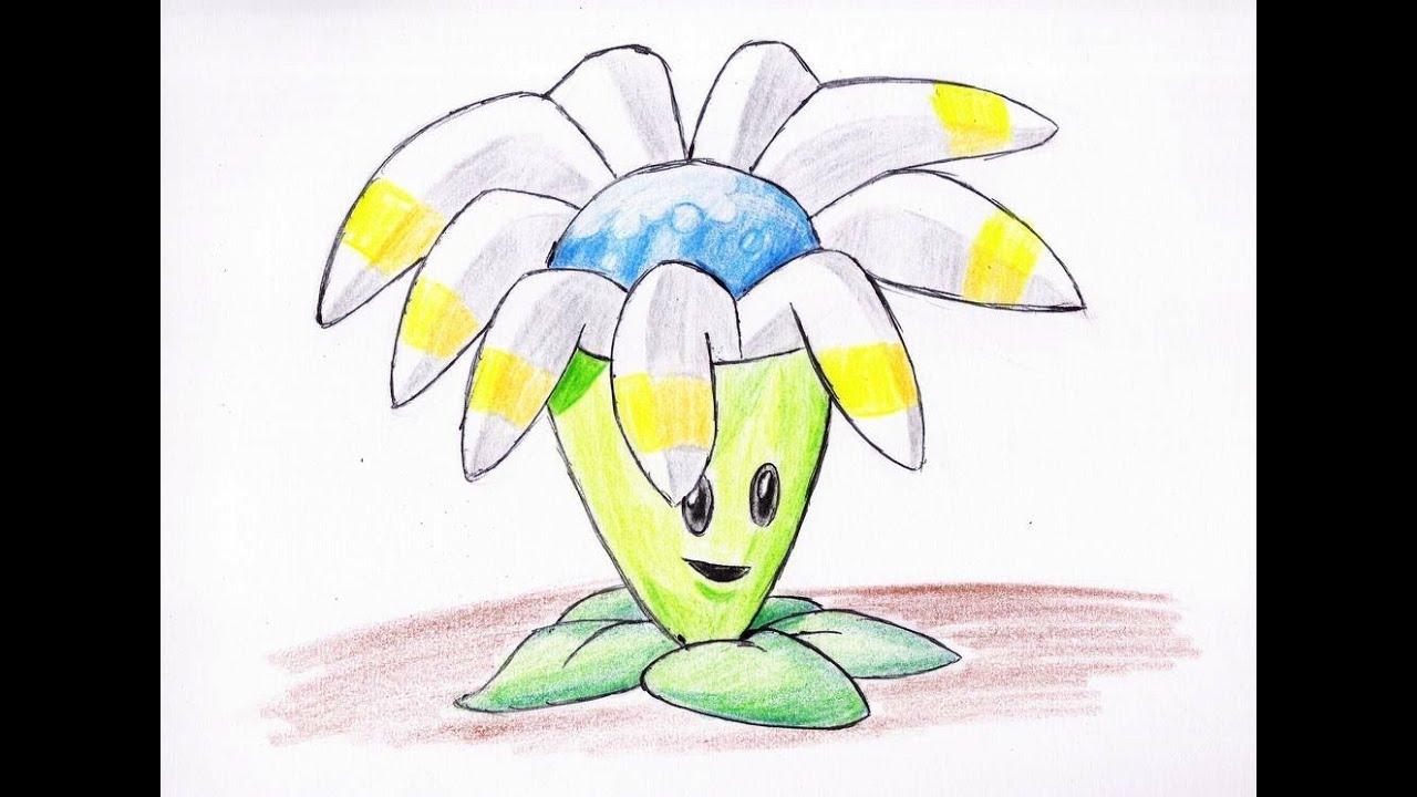 Como Dibujar A Un Pomelo De Pvz: Como Dibujar Planta Boomerang (plants Vs Zombies 2)