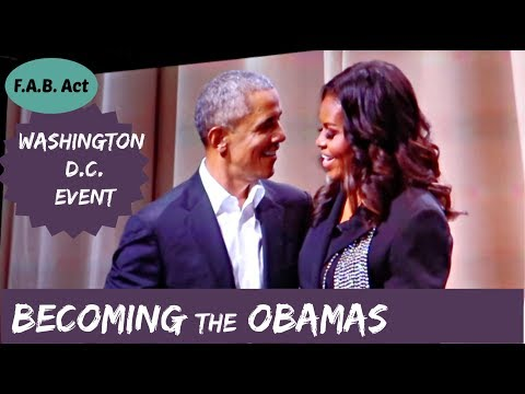 Barack Obama on Meeting Michelle for the First Time | Becoming Book Tour