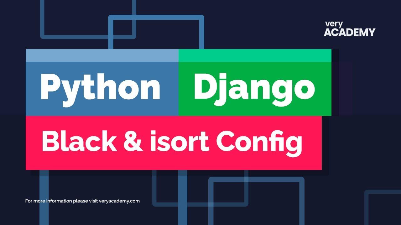 Set up Python Black and isort on Visual Studio Code