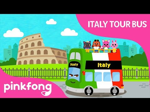 italy-tour-bus-|-ciao-italia!-|-bus-songs-|-wheels-on-the-bus-|-pinkfong-songs-for-children