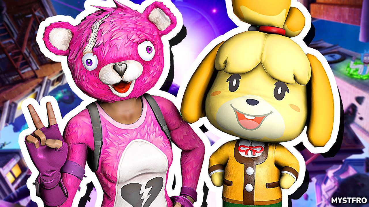 Isabelle Plays: Fortnite Battle Royale!   Zombies