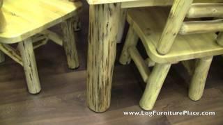 Cedar Lake Log Dining Chair | Log Side Chair
