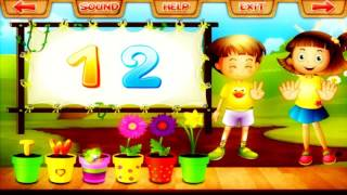 Learn Counting Numbers with Number - Game for Preschoolers Kids 123 Learning Apps for kids