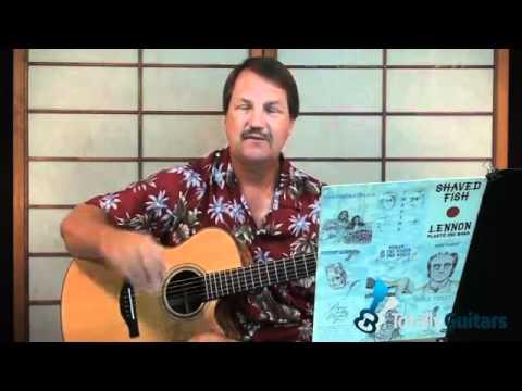 Instant Karma Guitar Lesson Preview John Lennon Youtube