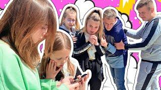 ЗЛОВЕЩИЕ СООБЩЕНИЯ! Амелька с Розой нашли странный телефон! Кто следит за ребятами?