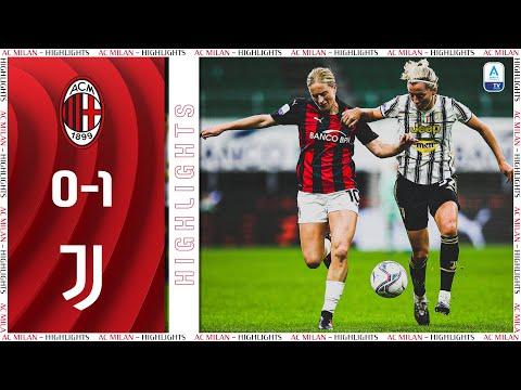 Highlights   AC Milan 0-1 Juventus Women   Matchday 4 Women's Serie A 2020/21