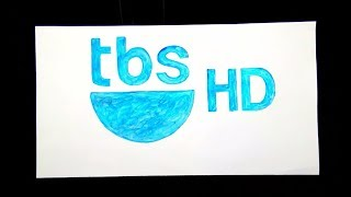 How to draw the tbs HD logo