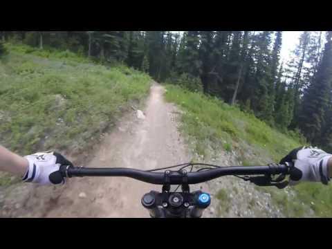 Mountain Biking Whitefish - Kashmir & Overflow
