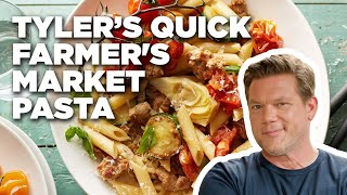 Tyler's Quick Farmer's Market Pasta | Food Network