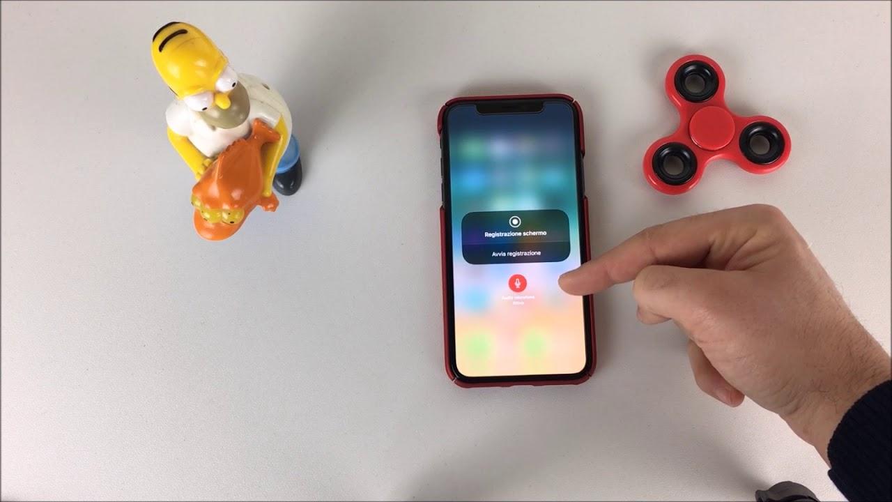 miglior registrare schermo iphone con audio