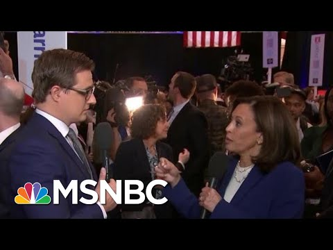 Kamala Harris Says Trump 'Like A Two Year Old With A Machine Gun' On Twitter | All In | MSNBC