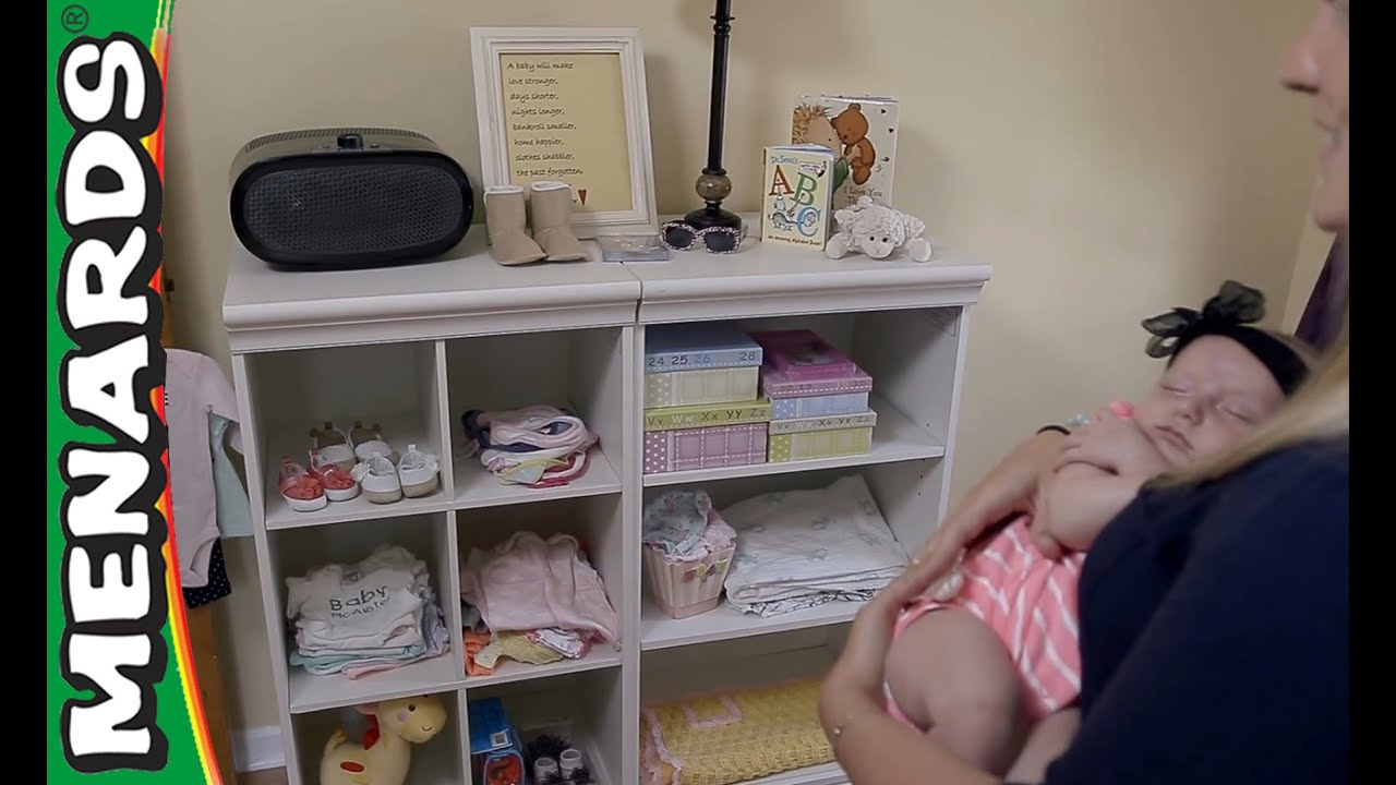 Nursery Storage And Organization   Weu0027re Here To Help   Menards