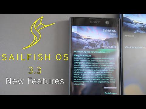 SailfishOS 3.3 New Features