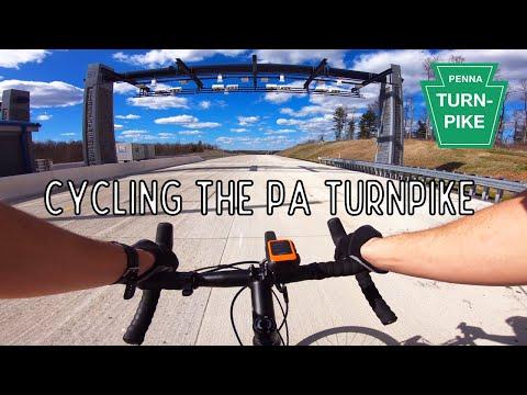 Cycling the Pennsylvania Turnpike