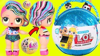 Arcade Baby Custom LOL Surprise Dolls Visits Punk Boi and JOJO