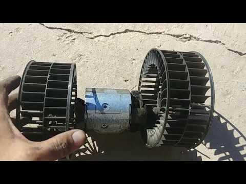 Как заменить моторчик печки BMW E34