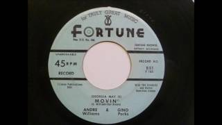 Andre Williams - Movin' - Great Sleazy Fortune R&B