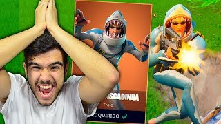 SHARK's NEW LEGENDARY SKIN MADE ME KILL GENERAL-Fortnite: Battle Royale