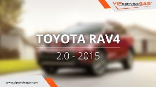 Обзор ГБО на Toyota RAV4 2.0 - ГБО Landi Renzo (ГАЗ на Тойота РАВ4) VIPserviceGAS Харьков