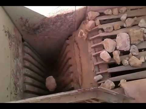 CMC portable up thrust jaw crusher UJS 110