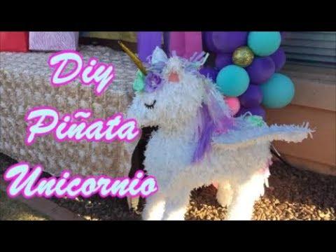 Piñata De Unicornio Diy Unicorn Piñata