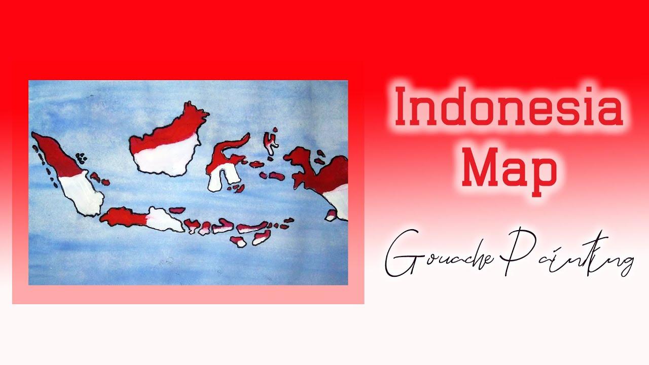Dirgahayu Indonesiaku - HUT Kemerdekaan RI 75 | Gouache Painting