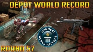 Bus Depot World Record Round 57 Solo // Black Ops 2 Zombies