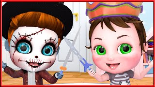 Toothless Monsters,  Family Song  + More Nursery Rhymes | Kids Songs | BMBM Cartoon Song [HD]