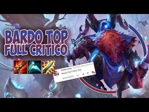 META É O CARVALHO! #105 - BARDO TOP FULL CRÍTICO - TEEMO É MUITO CHATO!!!