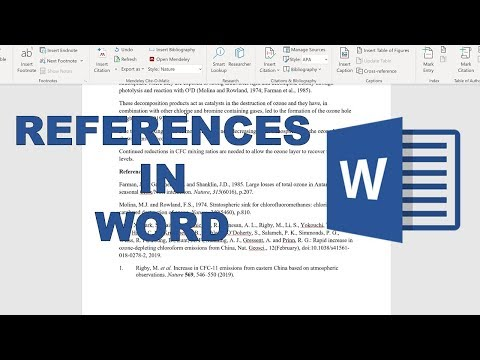 How to add references into word using google scholar and mendeley