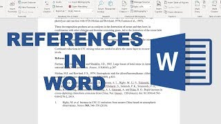 How to add ŗeferences into word using google scholar and mendeley