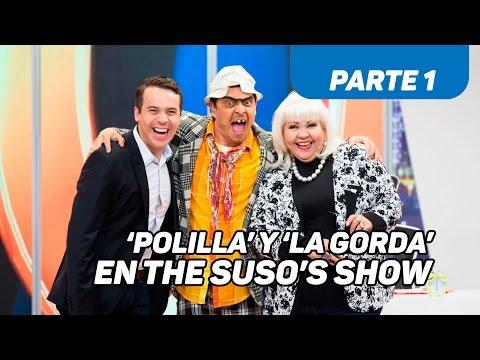'Polilla' y 'La Gorda Fabiola' en The Suso's Show - Caracol TV - Parte 1