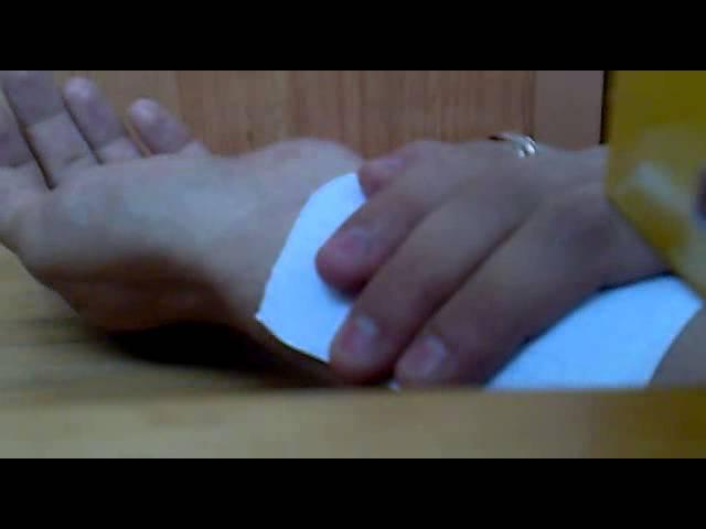 как перенести рисунок на руку для тату