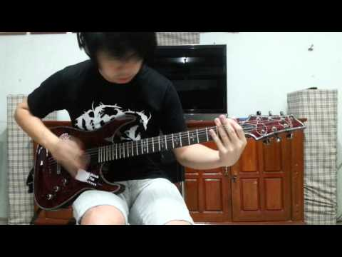 DevilDriver - End of the Line [Guitar cover by Sun Idle-Hand]