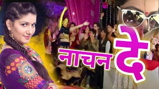 Mane Talli hokar nachan de Sapana Choudhari dance on Bollywood Dance