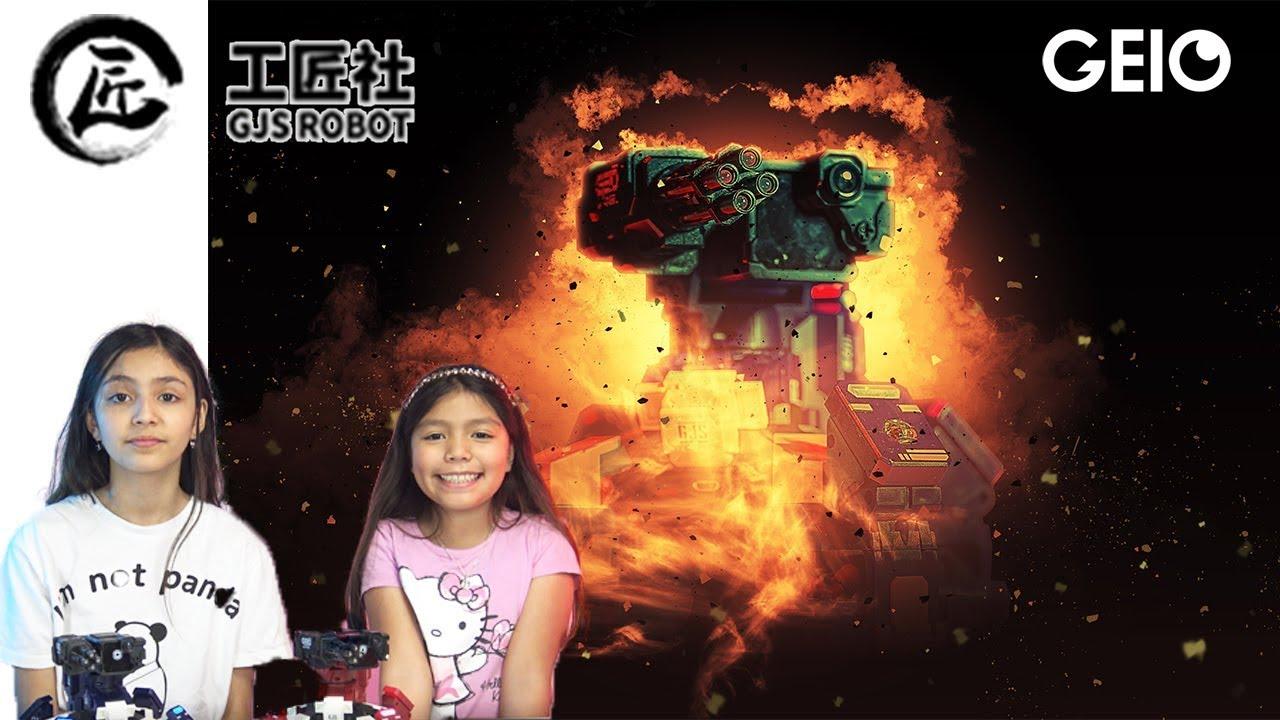 GEIO GJS Gaming Robots better than DJI RoboMaster?   Back To School Giveaway Winner