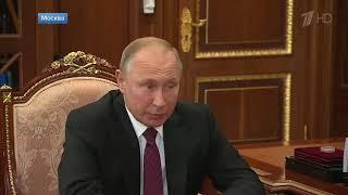 Смотреть видео Мэр столицы С Собянин рассказал президенту об успехах Москвы и помощи городу побратиму Севастополю онлайн
