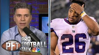 New York Giants should revolve offense around Saquon Barkley | Pro Football Talk | NBC Sports