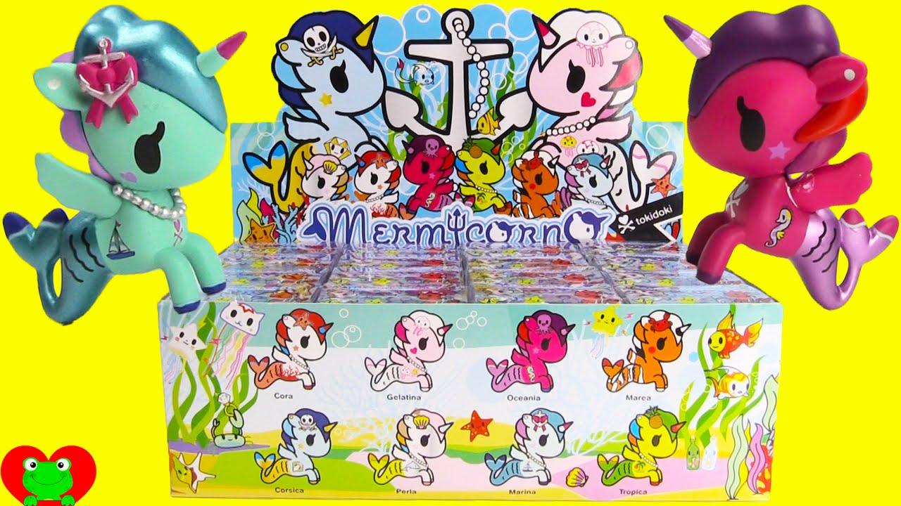 Mermicorno Unicorno Mermaids Tokidoki Blind Boxes Youtube