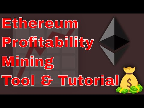 2019 Ethereum Mining Profitability Tool & Easy Tutorial On How To Update!