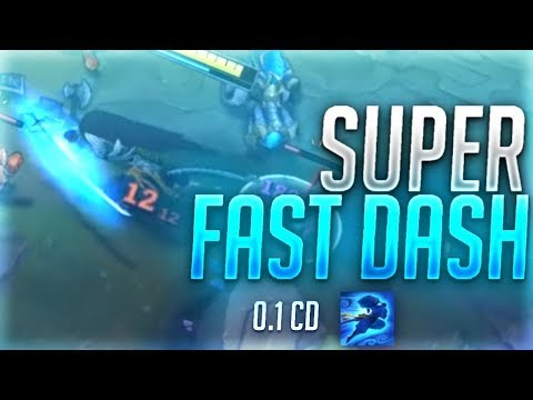YasuoStyle L SUPER FAST DASH IS OP 0.1 Cooldown?