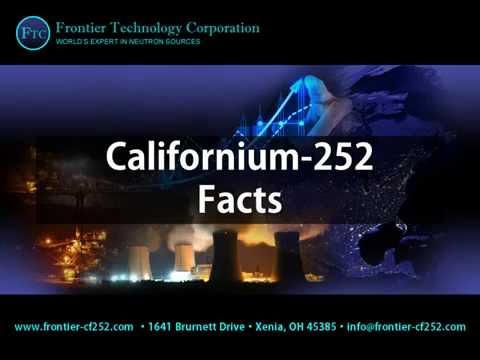 Californium-252 Facts