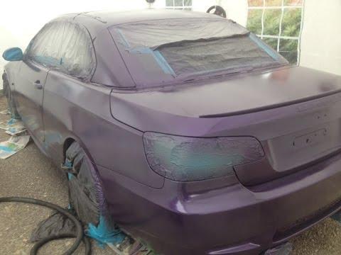 Plastidip Car (Car Dipping) - Nebula Purple - YouTube