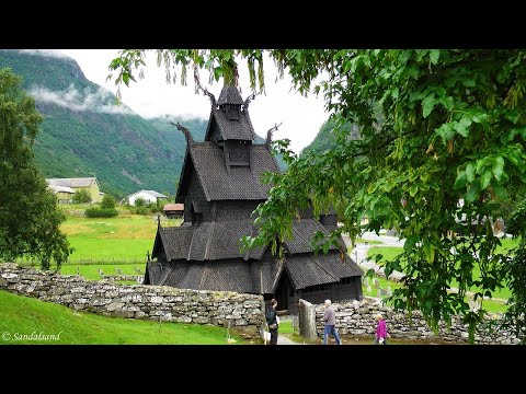 Norway - Borgund stavkirke (stave church)