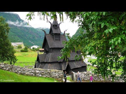 Norway - Borgund stavkirke (stave church)