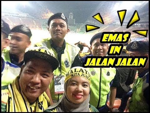 VLOG BOLASEPAK MALAYSIA VS INDONESIA STADIUM SHAH ALAM 26.08.2017