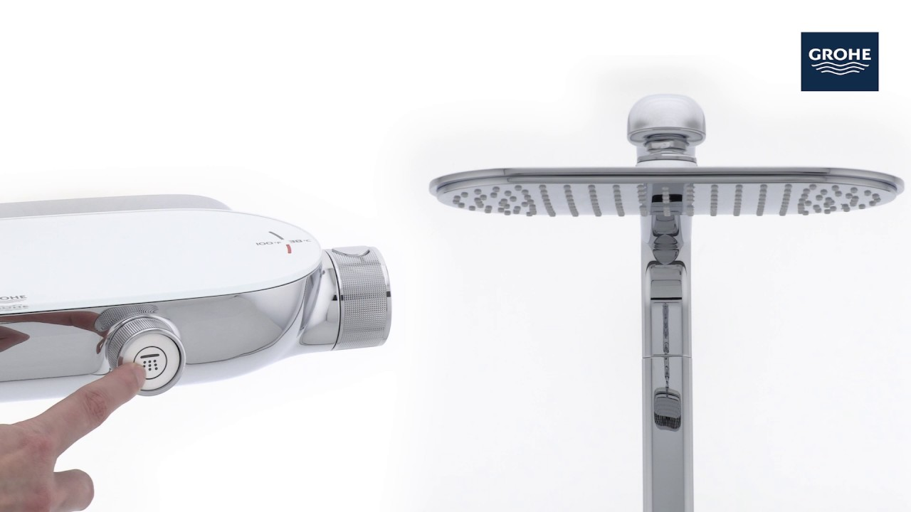 GROHE | Rainshower SmartControl Shower System | Product Video - YouTube
