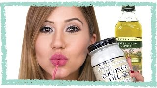 How To Make Lip Stain Remover - One Ingredient DIY!
